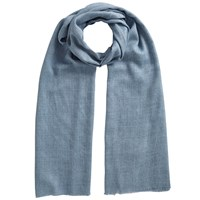 East Wool Blend Scarf Denim Blue