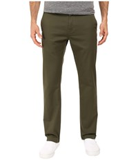Volcom Frickin Modern Stretch Chino Military Men's Casual Pants Olive