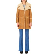 Mih Jeans Fairport Shearling Jacket Bronze