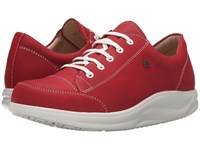 Finn Comfort Ikebukuro Indian Red Women's Lace Up Casual Shoes Multi
