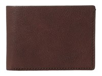 Bosca Washed Collection Small Billfold Brown Wallet Handbags