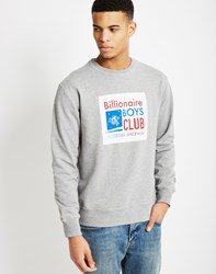 Billionaire Boys Club Reversible Crewneck Sweatshirt Grey