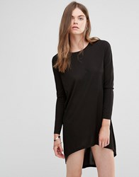 Jdy J.D.Y High Low Tunic Dress Black
