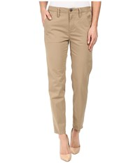 G Star Bronson Mid Skinny Chino Pants In King Stretch Button Sahara King Stretch Button Sahara Women's Casual Pants Khaki