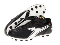 Diadora Brasil Classic Black White Men's Soccer Shoes