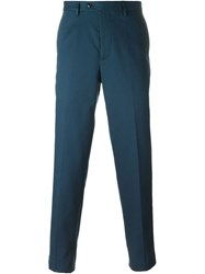 Mp Massimo Piombo Straight Leg Tailored Trousers Grey