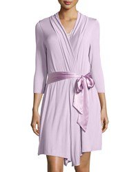 Fleurt Take Me Away Short Robe With Silk Belt Women's