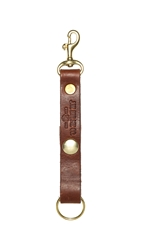 J.W. Hulme Co. American Heritage Leather Key Fob