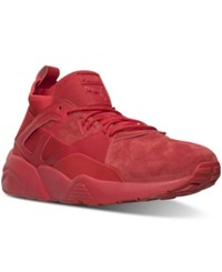 Puma Men's Blaze Of Glory Sock Mono Casual Sneakers From Finish Line Red Red Red