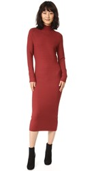 Won Hundred Bluma Sweater Dress Russet Brown