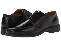 Josef Seibel Sander Roma Black Men's Lace Up Bicycle Toe Shoes