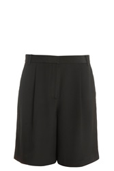 Tibi New York Pleated Silk Shorts