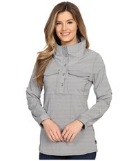 Mountain Hardwear Citypass Long Sleeve Popover Black Women's Long Sleeve Button Up