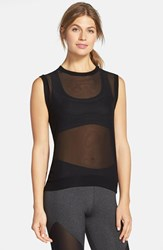 Women's Solow Mesh Tank Black