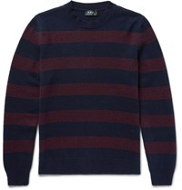 A.P.C. Striped Wool Sweater Navy