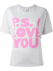 Paul Smith Ps By P.S. I Love You Printed T Shirt
