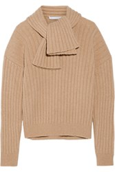 J.W.Anderson Ribbed Knit Sweater Beige