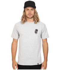 Huf Crazy Horse Tee Grey Heather Men's T Shirt Gray
