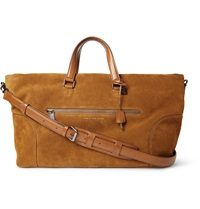 Marc By Marc Jacobs Tony Suede Holdall Brown