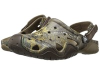 Crocs Swiftwater Realtree Xtra Clog Walnut Espresso Men's Clog Shoes Multi
