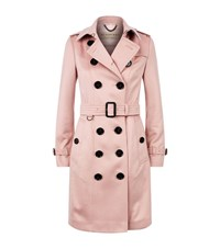Burberry The Sandringham Cashmere Trench Coat Female Pink
