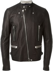 Lanvin Round Neck Jacket Black