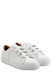 Carven Leather Sneakers White
