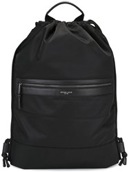 Michael Kors Drawstring Backpack Black