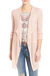 Women's Volcom 'Ready To Go' Open Cardigan