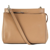 Karen Millen Leather Mini Bag Camel