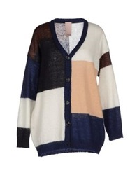 People Cardigans Dark Blue
