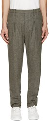 Christophe Lemaire Grey Wool Trousers