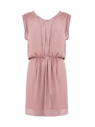 Garcia Dress With Punctured Detailing Pink