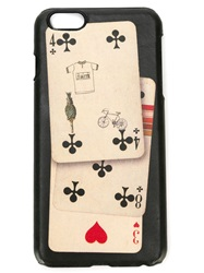 Paul Smith Card Print Iphone 6 Cover Nude And Neutrals