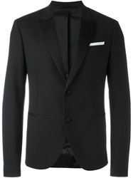 Neil Barrett Classic Smoking Jacket Black