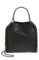 Stella Mccartney 'Mini Falabella' Studded Faux Leather Tote