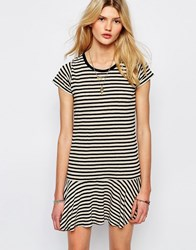 Sessun Drop Waist Mini Dress In Stripe Pirates Multi