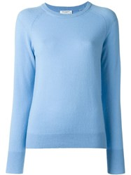 Equipment Crew Neck Sweater Blue