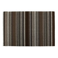 Chilewich Mixed Stripe Shag Rug Oak 61X91cm
