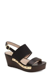 Women's Louise Et Cie 'Quincy' Platform Wedge Sandal Black
