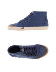 Napapijri High Tops And Trainers Dark Blue