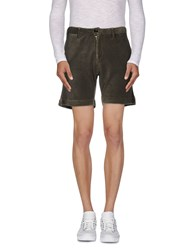 Myths Trousers Bermuda Shorts Men Military Green