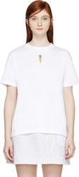 Jacquemus White Carrot Patch T Shirt