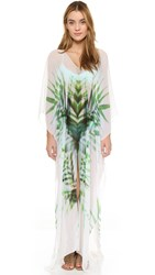Lotta Stensson Breeze Palm Slit Maxi Caftan Breezy Palm