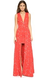 Alice Olivia Francis Gown Poppy Dusty Pink