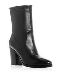 Michael Kors Eloise Stretch High Heel Booties Black