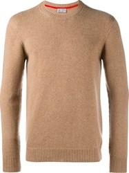 Christian Dior Homme Crew Neck Jumper Nude And Neutrals