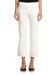 The Row Seeton Stretch Denim Leggings White