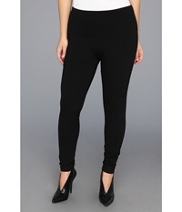Lysse Plus Size Ponte Legging W Center Seam 15190 Black Women's Casual Pants