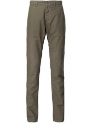 Tomas Maier Classic Lightweight Chinos Green